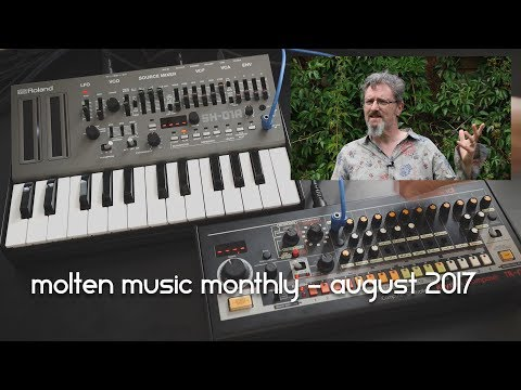 Molten Music Monthly - August 2017