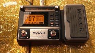 mooer ge100 - guitar multi fx for under 100!!