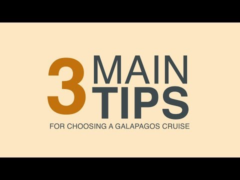 Galapagos Travel Tips