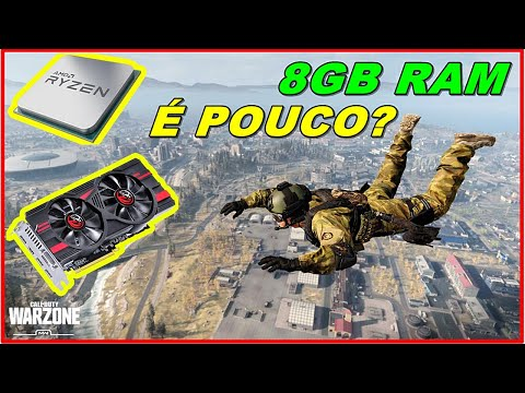 Ryzen 1600 + RX 570 + 8GB - Call Of Duty: Warzone
