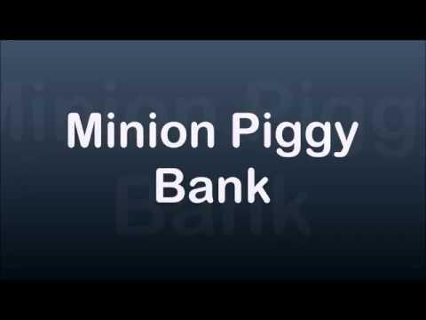 Minion Piggy Bank