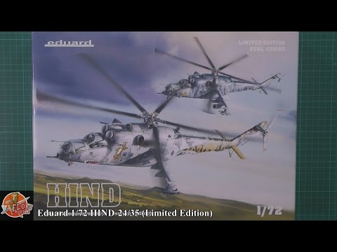 Eduard 1/72 HIND 24/35 review