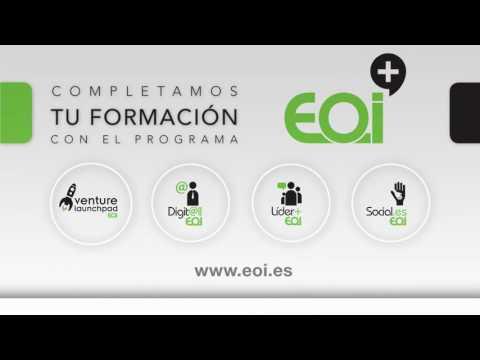 EOI+: Completa tu formación emprendedora, líder, digital y social