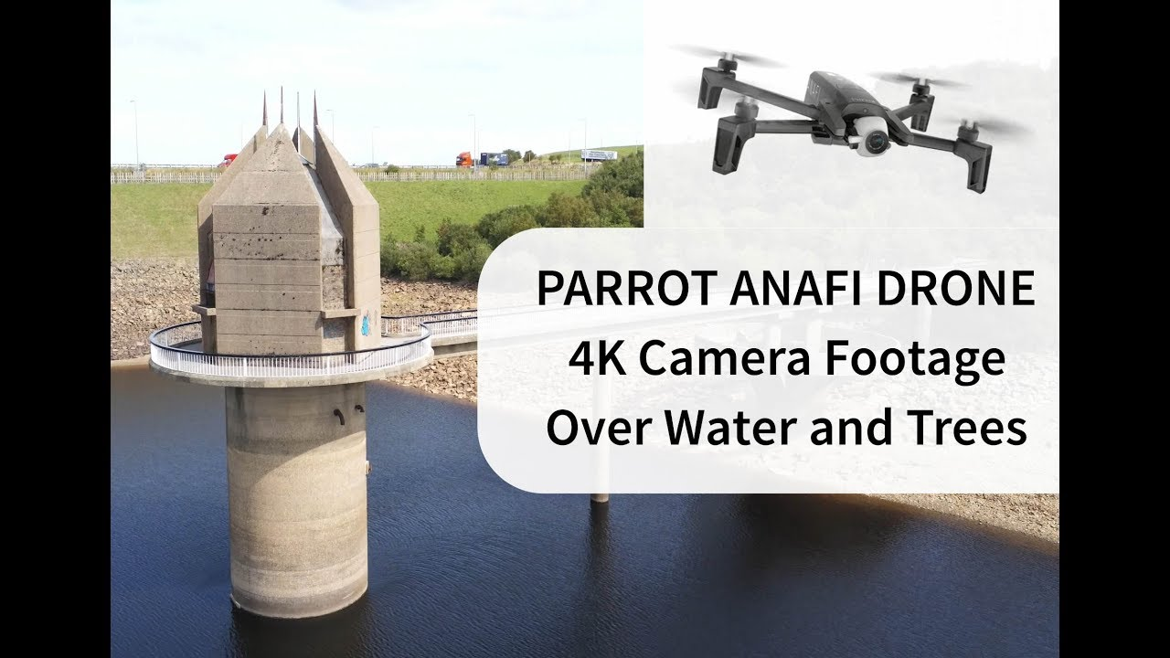 Parrot Anafi 4K Drone Flight Over Lake and Trees | Drone Minds Forums