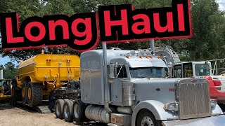 A week in the life of a heavy haul trucker   hauling a big articulating water truck