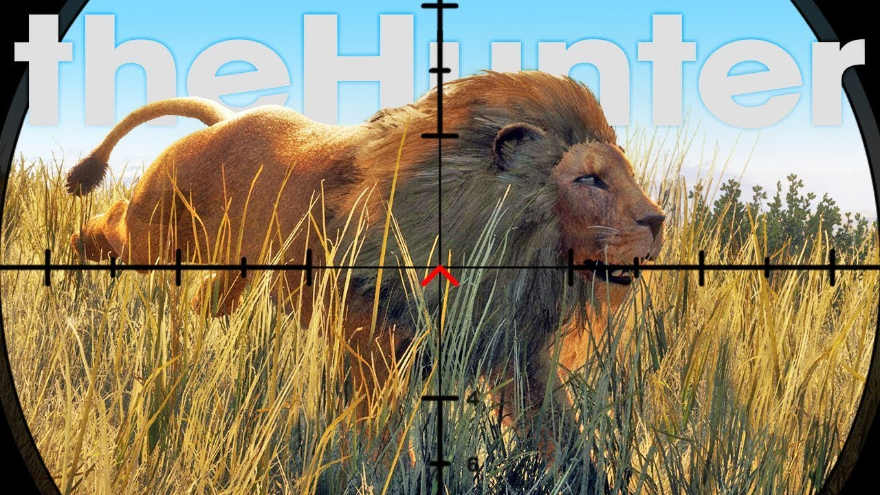 Hunting Lions With A Pistol, What Could Go Wrong? – Lion Hunting Update – theHunter Call of the Wild
