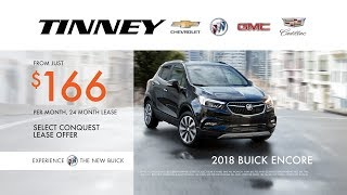 2018 Buick Encore Current Lease Specials at Tinney Automotive