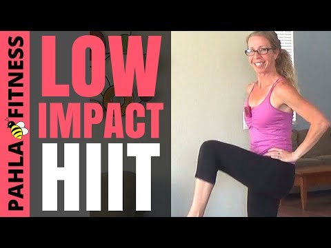 Bodyweight CARDIO HIIT Modified for LOW IMPACT | 20 Minute Home Workout without Jumping