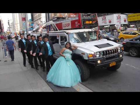 Time Square Erika Flores Sweet 16