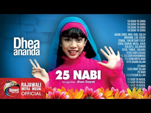 Dhea Ananda - 25 Nabi - Official Music Video
