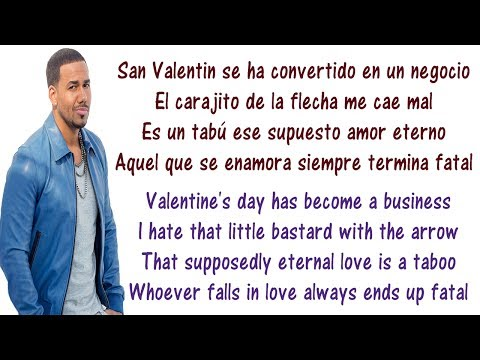 Romeo Santos - Cancioncitas De Amor Lyrics English And Spanish - Translation & Meaning - Letras