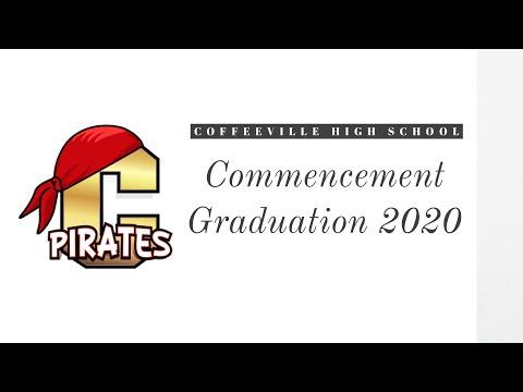 Coffeeville High School Graduation Commencement 2020