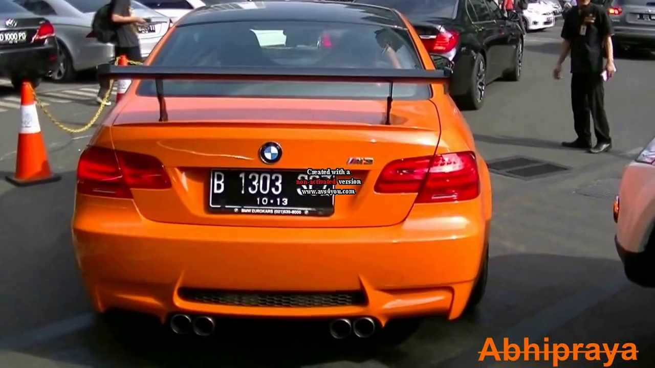 2011 BMW M3 GTS - Start up and Rev - YouTube