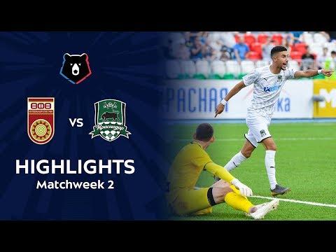 Highlights FC Ufa vs FC Krasnodar (2-3)