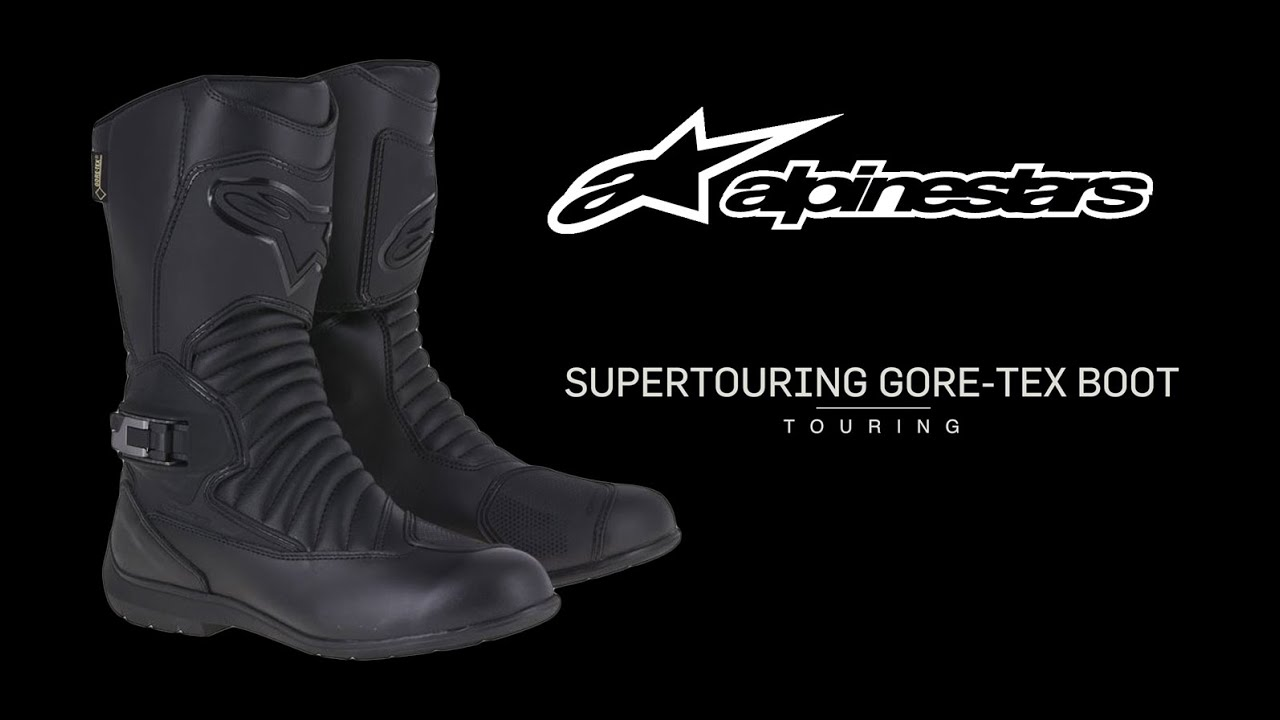 Botas Alpinestars Super Touring Gore Tex Youtube