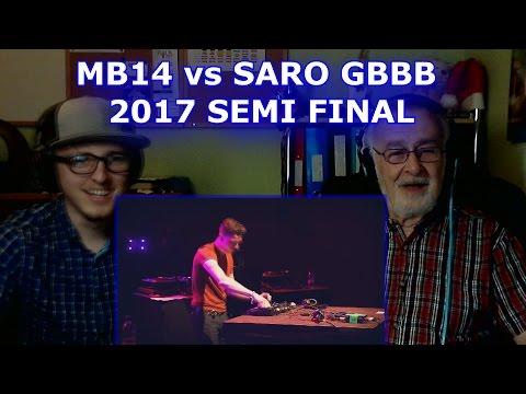 MB14 vs SARO | Grand Beatbox LOOPSTATION Battle 2017 | SEMI FINAL - GRANDPA REACTION