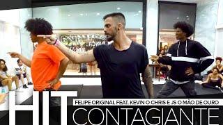 Baixar Hit Contagiante - Felipe Original feat. Kevin O Chris e JS O Mão de Ouro   Coreografia de PH Martins