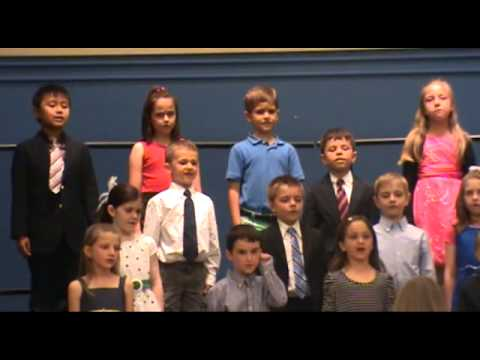 Huron Valley Catholic School First Grade Spring Concert May 2014
