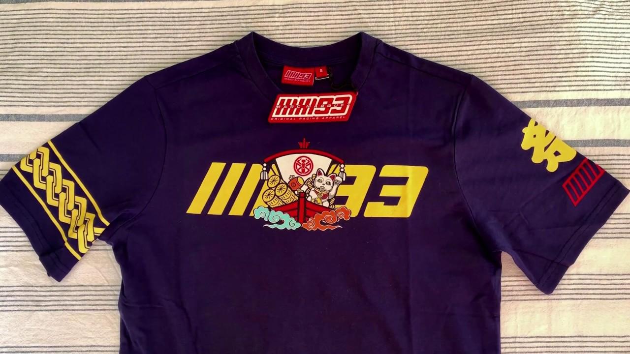GP RACING T-Shirt MM93 Marc Marquez Japan MotoGP Official Racing Apparel