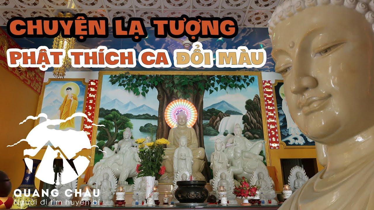 Kỳ bí ngôi chùa Sóc Trăng có nhiều tượng Phật bằng đá Đổi Màu theo thời gian