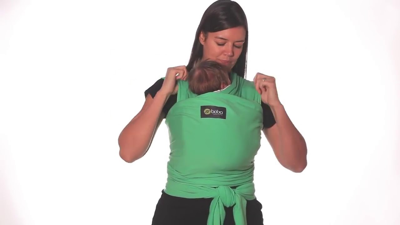 Boba Baby Wrap Newborn Hold Youtube