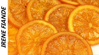 Карамелизированные дольки апельсинов.Эффектный декор и десерт для Новогоднего стола