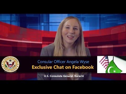U.S. Consulate General Karachi Exclusive Q & A Session on Facebook
