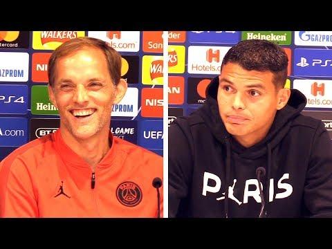Thomas Tuchel & Thiago Silva Full Pre-Match Press Conference - Liverpool v PSG - Champions League