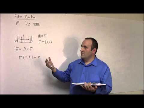 Undergraduate Topology: April 8, vector bundles and a word on fiber bundles (part 1)