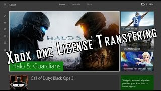 How To License Transfer on Xbox One
