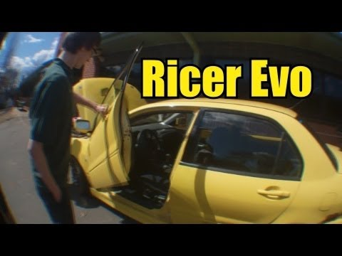 Punk Ricer Talks Up His Evo
