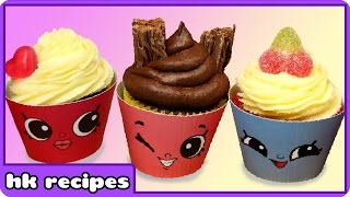 Deliciously Adorable & Easy To Make SHOPKINS CUPCAKE Recipe