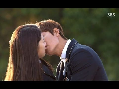 'Ecstasy' Lee Min Ho, Park Shin Hye Silenced The Kiss (heirs 9)