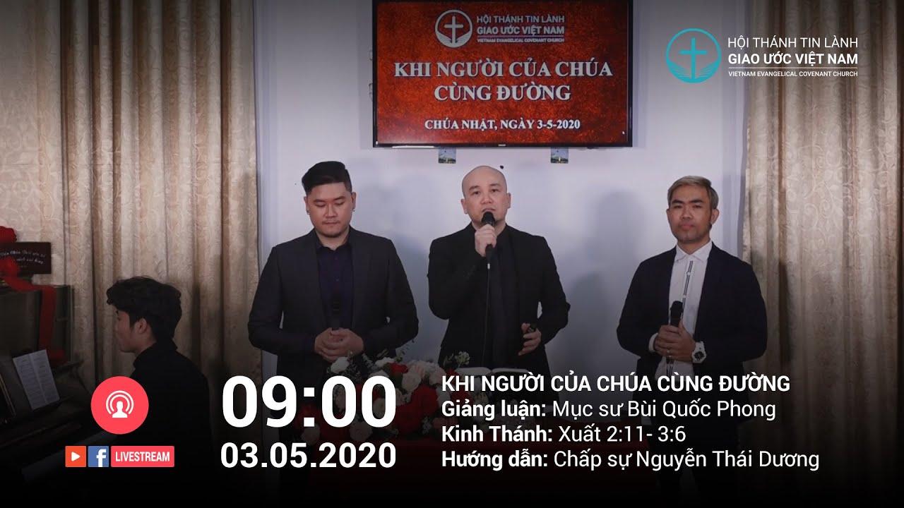 Giờ thờ phượng & học Kinh Thánh trực tuyến – Chúa Nhật 03/05/2020