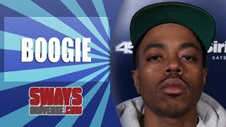 Boogie Says His Generation is Thirsty, Discusses Hiding Behind Social Media & Freestyles Live
