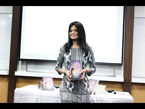 Bombay launch of The Many Lives of Ruby Iyer at NMIMS - my alma mater