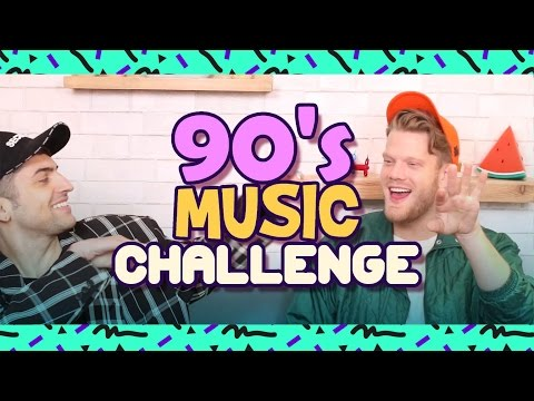 90'S MUSIC CHALLENGE!