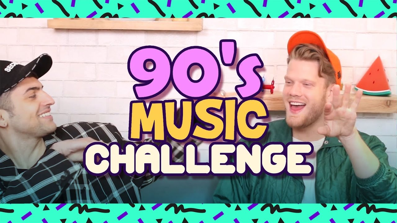 90 S Music Challenge Youtube