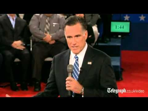 Mitt Romney: 'I Had Binders Full Of Women'
