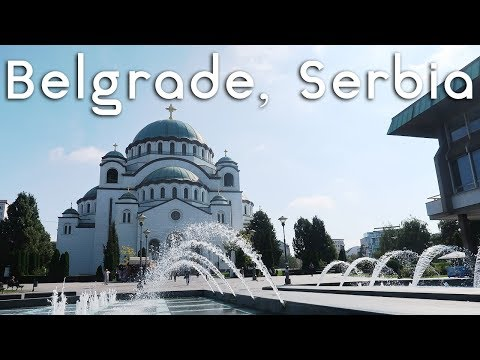 Things to See and Eat in Belgrade, Serbia!   Travel Vlog!