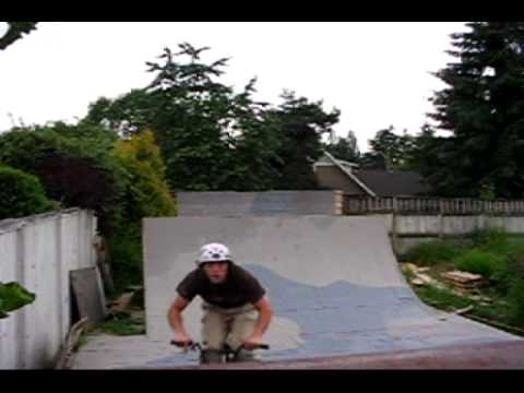 BMX RIDING JAY RUTHERFORD