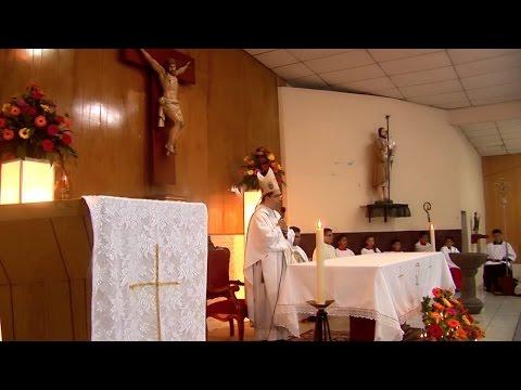 Mensaje de Monseñor Jose luis Escobar Alas sobre la adoración Eucarística