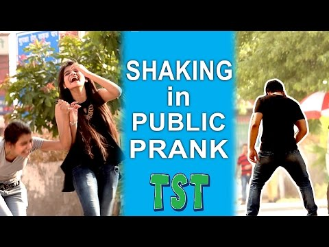 Shaking in Public Prank - Pranks in India TroubleSeekerTeam
