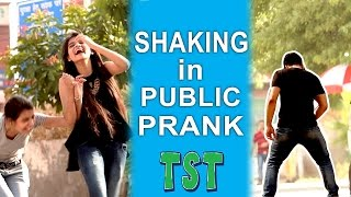 Shaking in Public Prank - Pranks in India TroubleSeekerTeam