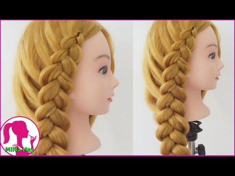 Hairstyles - Hướng Dẫn Cách Tết Tóc Dễ Thương Đi Học