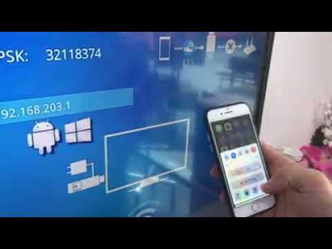 İphone telefonu  tv ye kablosuz bağlama screen mirroring