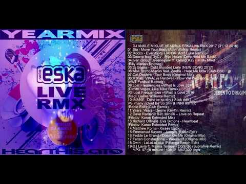 DJ ANKLE MIXUJE YEARMIX ESKA Live RMX 2017 31.12.2016  (Official Music)
