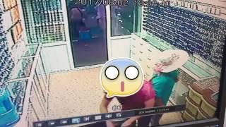 Бишкек🇰🇬 рынок Дордой(Джунхай) воровка пожилая Женщина(((👎