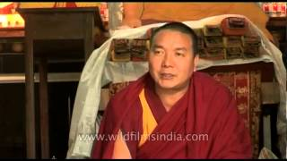 Conversation with Lama Tashi - Grammy nominated singing Indian monk