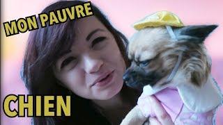 J'HABILLE MON CHIEN, LA PAUVRE! xD
